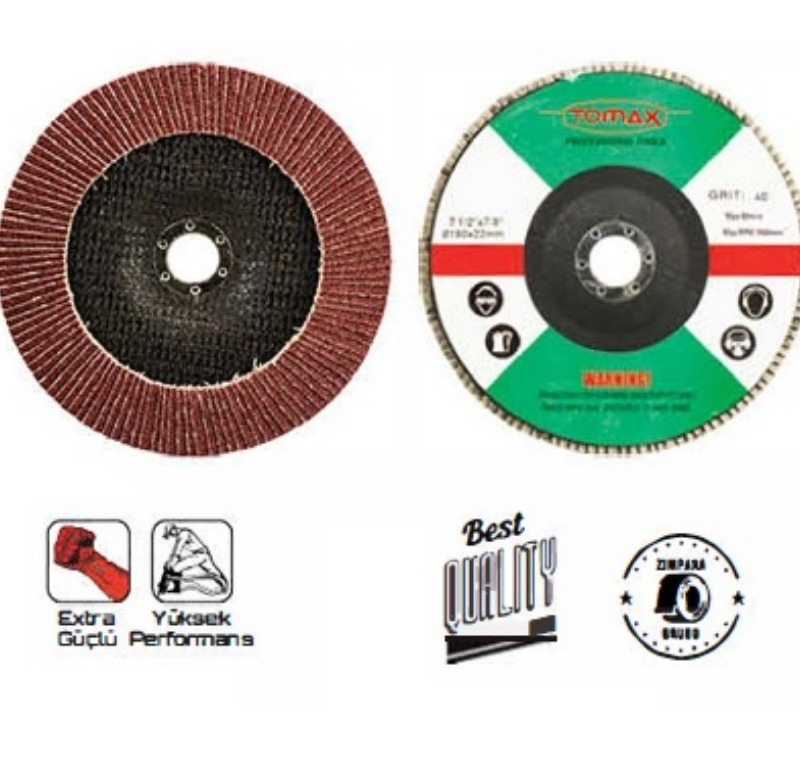 Tomax Flap Disk Zımpara 180 mm (40 mm) -07350040